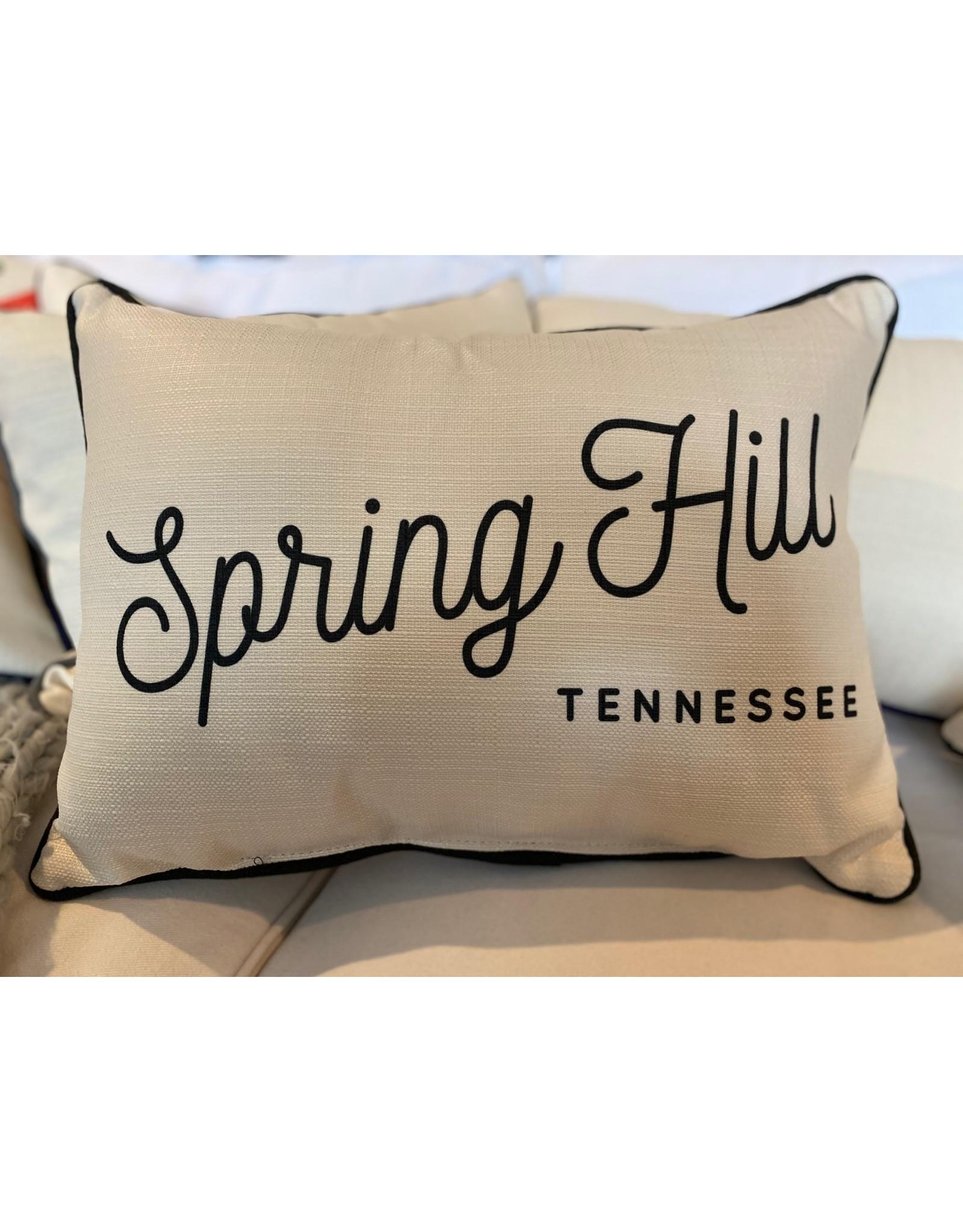 Little Birdie Retro Spring Hill Pillow