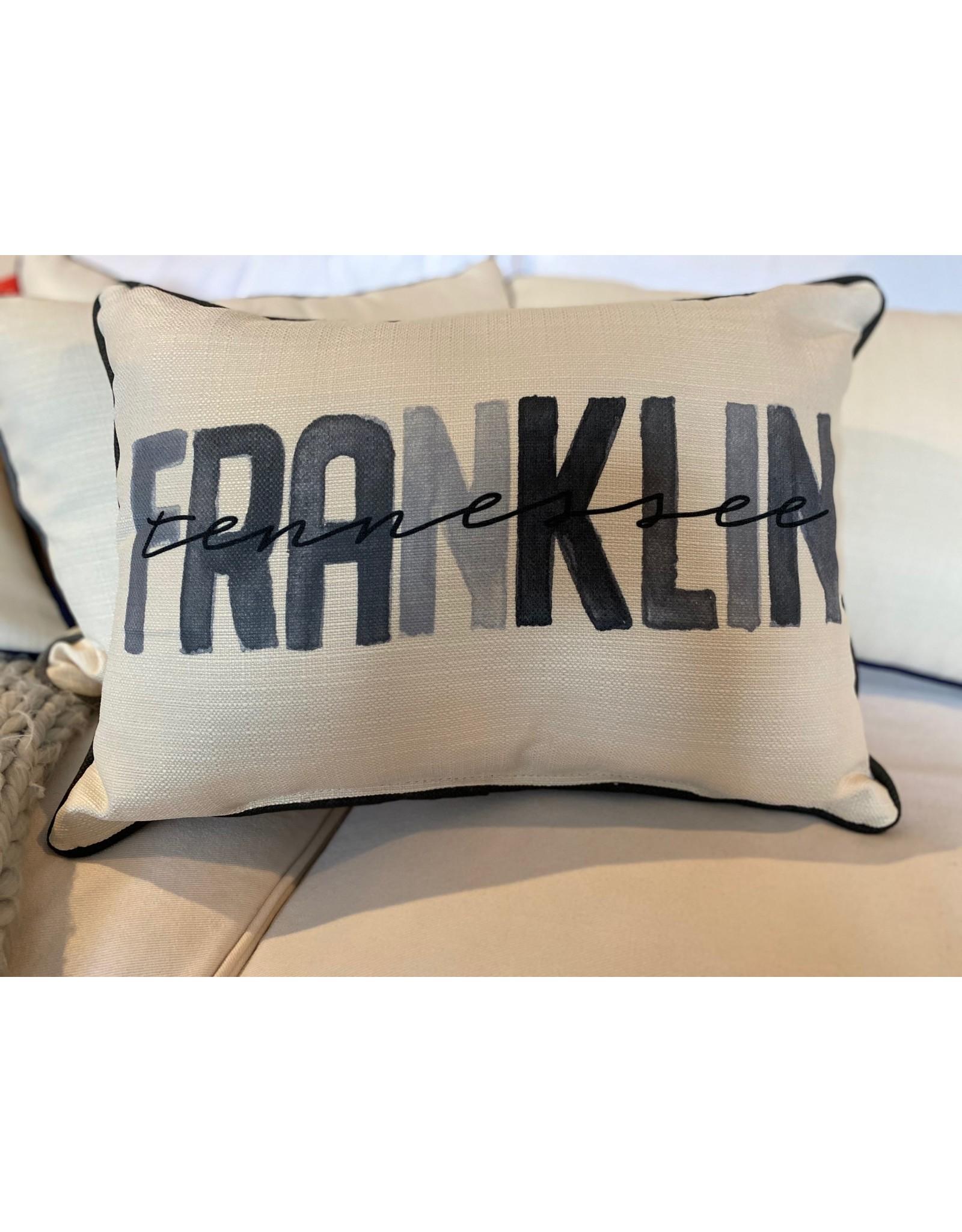 Little Birdie Gray Franklin Poster Pillow