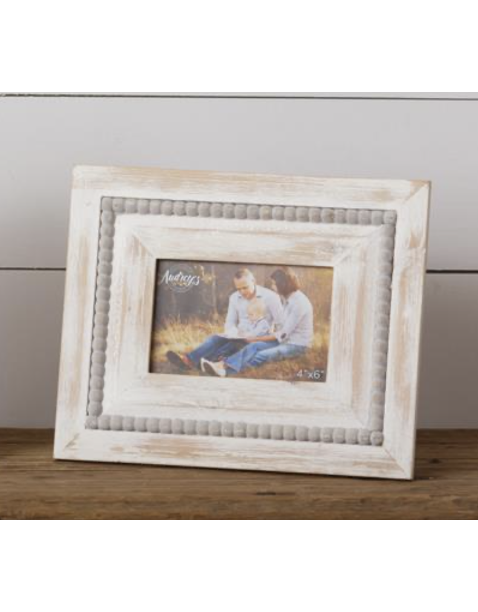 Audrey's Beaded Picture Frame 5 x 5