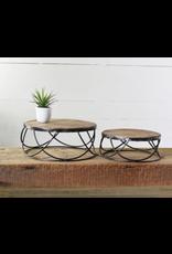 PD Home & Garden Loft Round Riser Tin Large