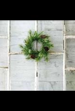 Lancaster & Vintage Black Hills Pine Candle Wreath