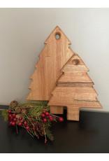 Gypsy Wagon Christmas Tree Cutting Board Medium