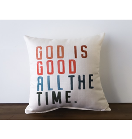 Little Birdie God Is Good All The Time Pillow