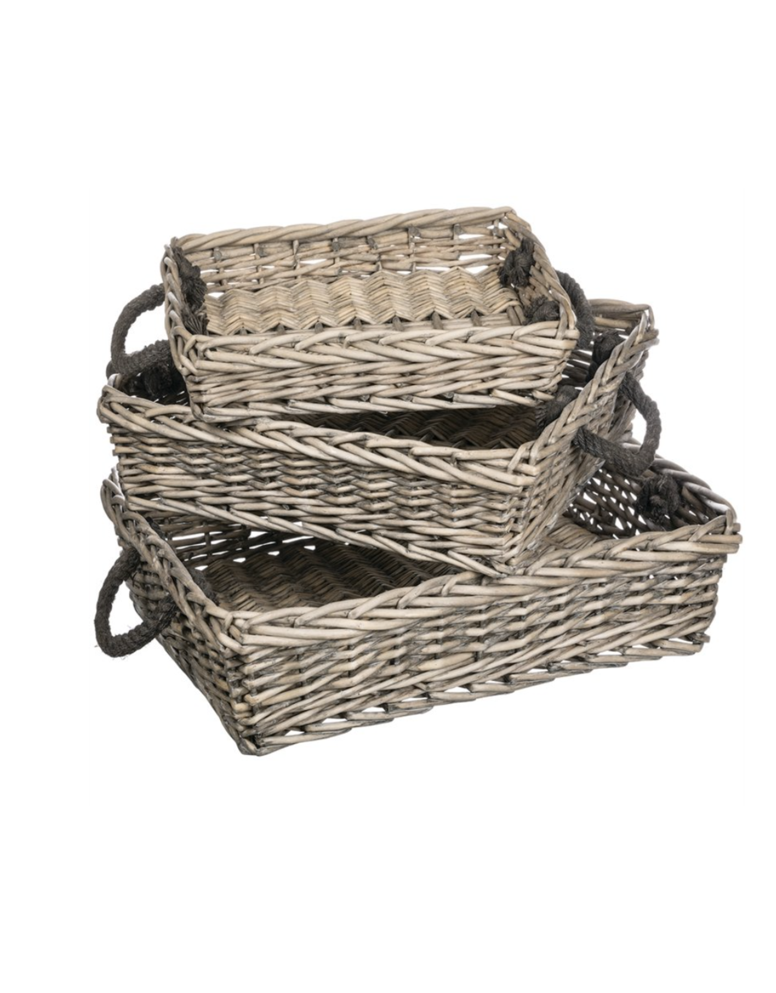 Sullivans Willow Rectangle Basket Medium