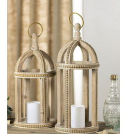 VIP Home & Garden Beaded Lantern Large