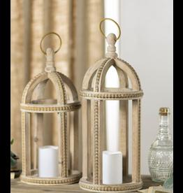 VIP Home & Garden Beaded Lantern Small