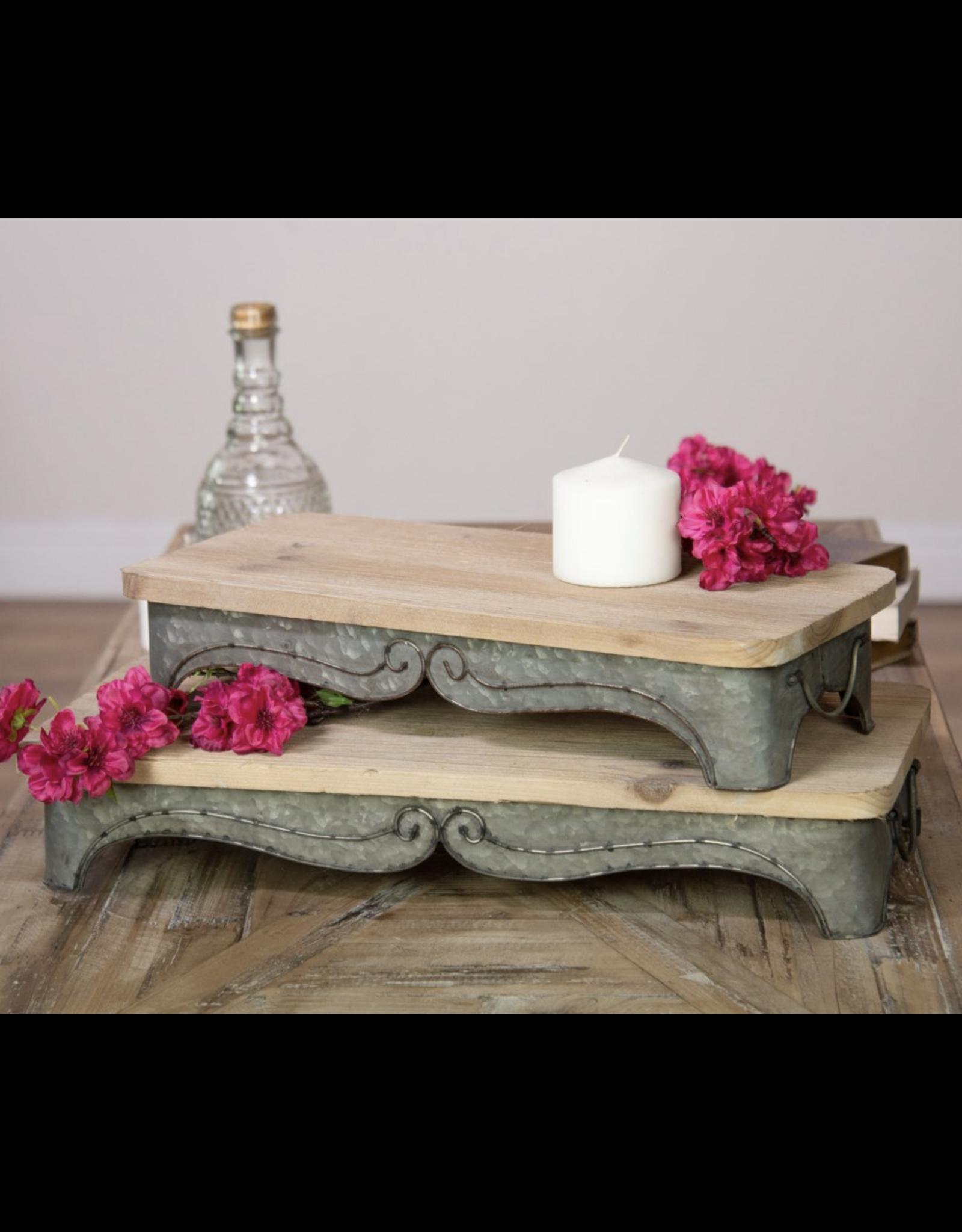 VIP Home & Garden Metal/Wood Riser Small