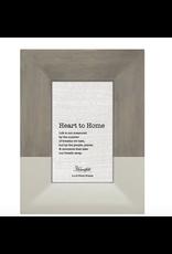 Heartfelt CB Gift Grey & Ceramic Photo Frame 4 x 6