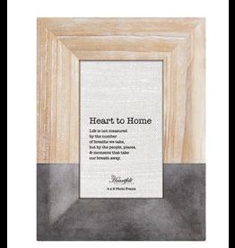 Heartfelt CB Gift Natural & Gunmetal Photo Frame 4 x 6