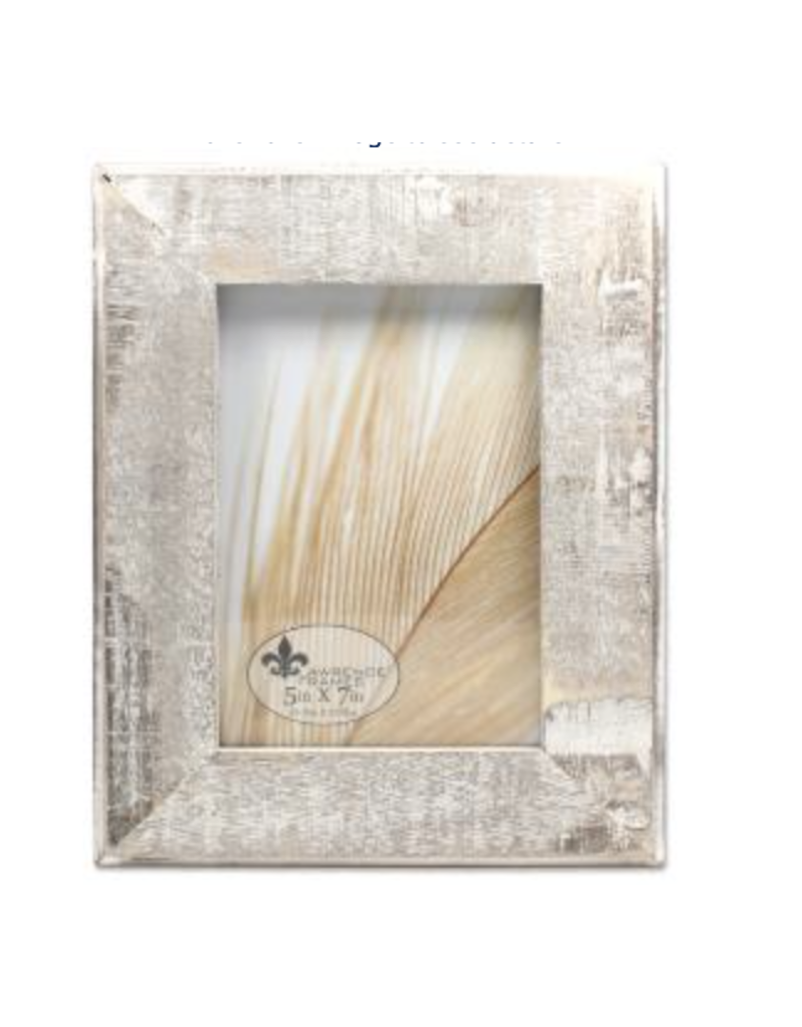 Lawrence Frames Distressed Gray Wood Frame 5 x7