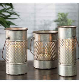 VIP Home & Garden Metal Candle Holder Small