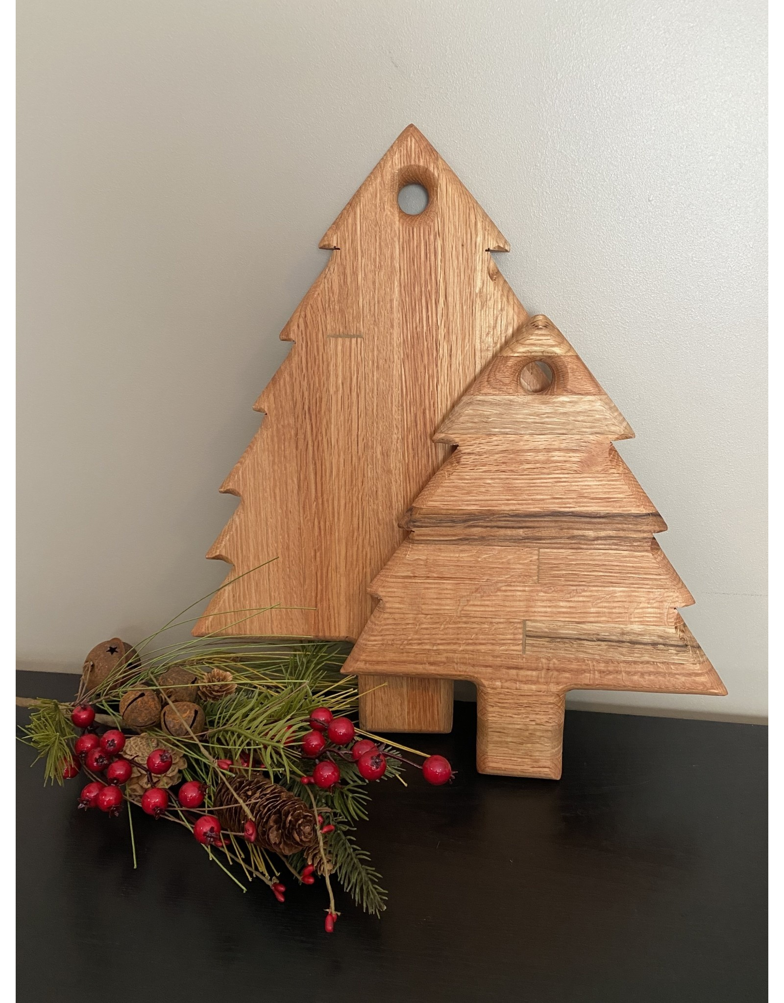 Gypsy Wagon Christmas Tree Cutting Board Small