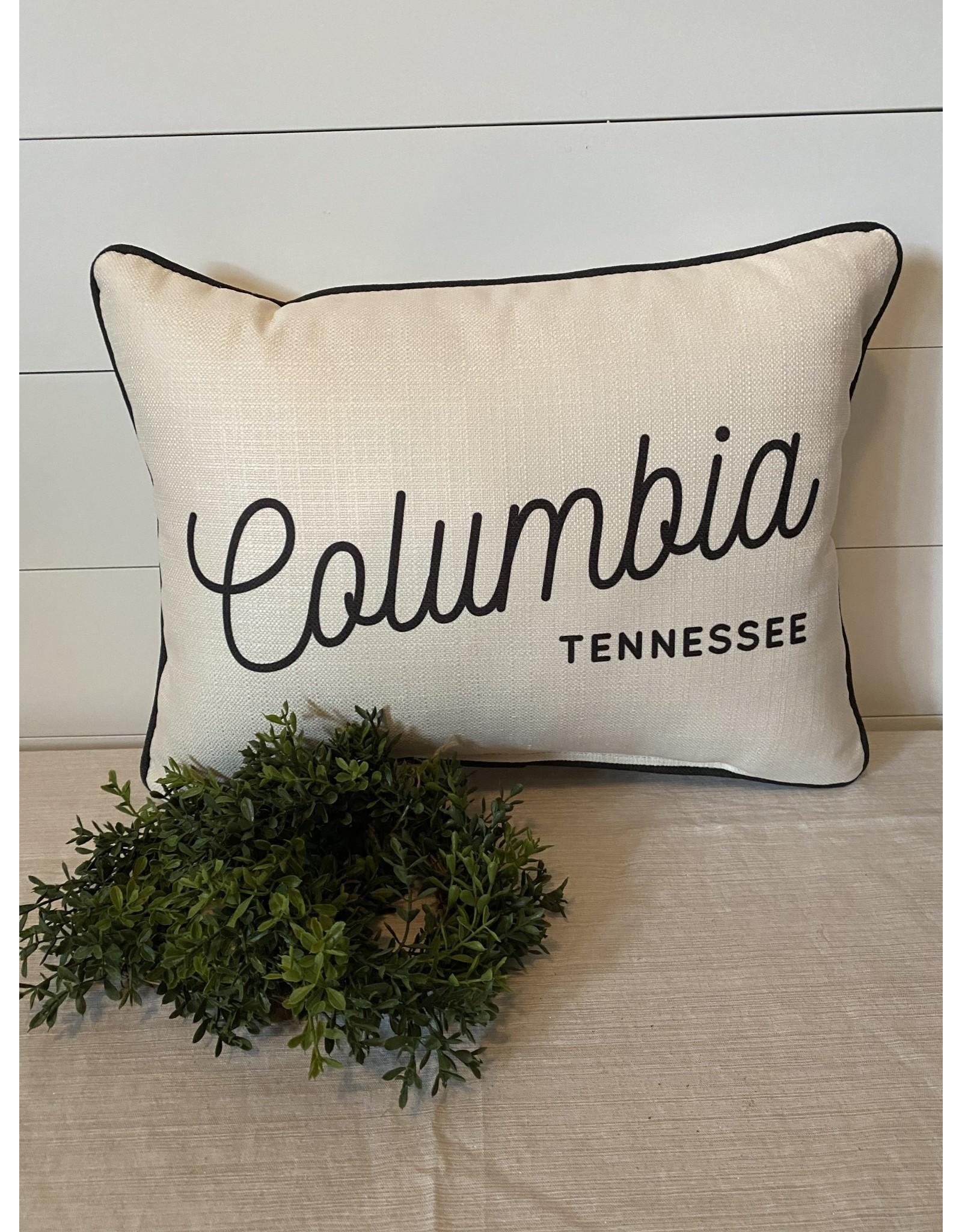 Little Birdie Retro Columbia Pillow