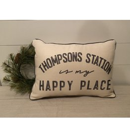 Little Birdie Thompsons Station is My Happy Place Grey (storm grey)
