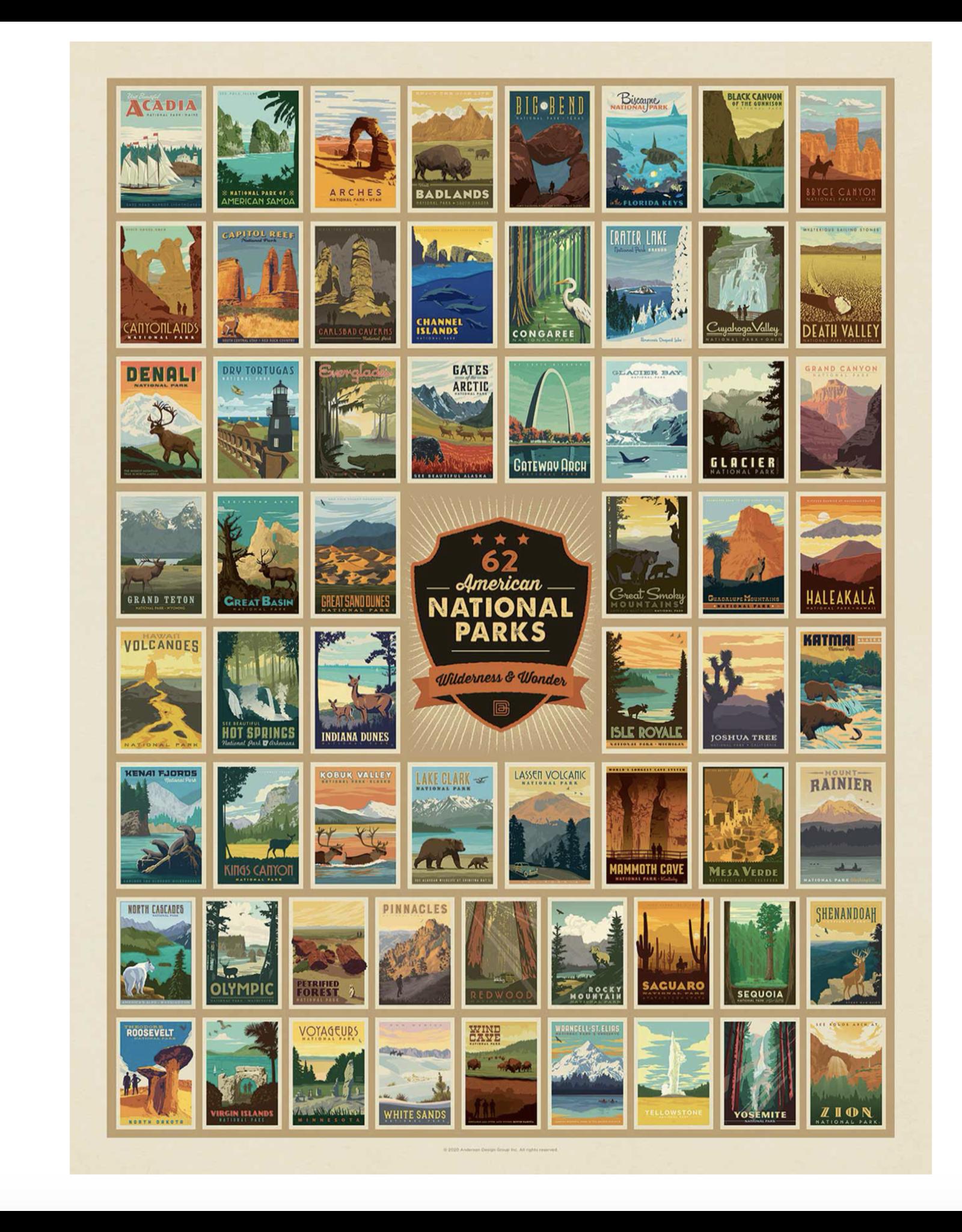 True South National Parks Emblems Puzzle