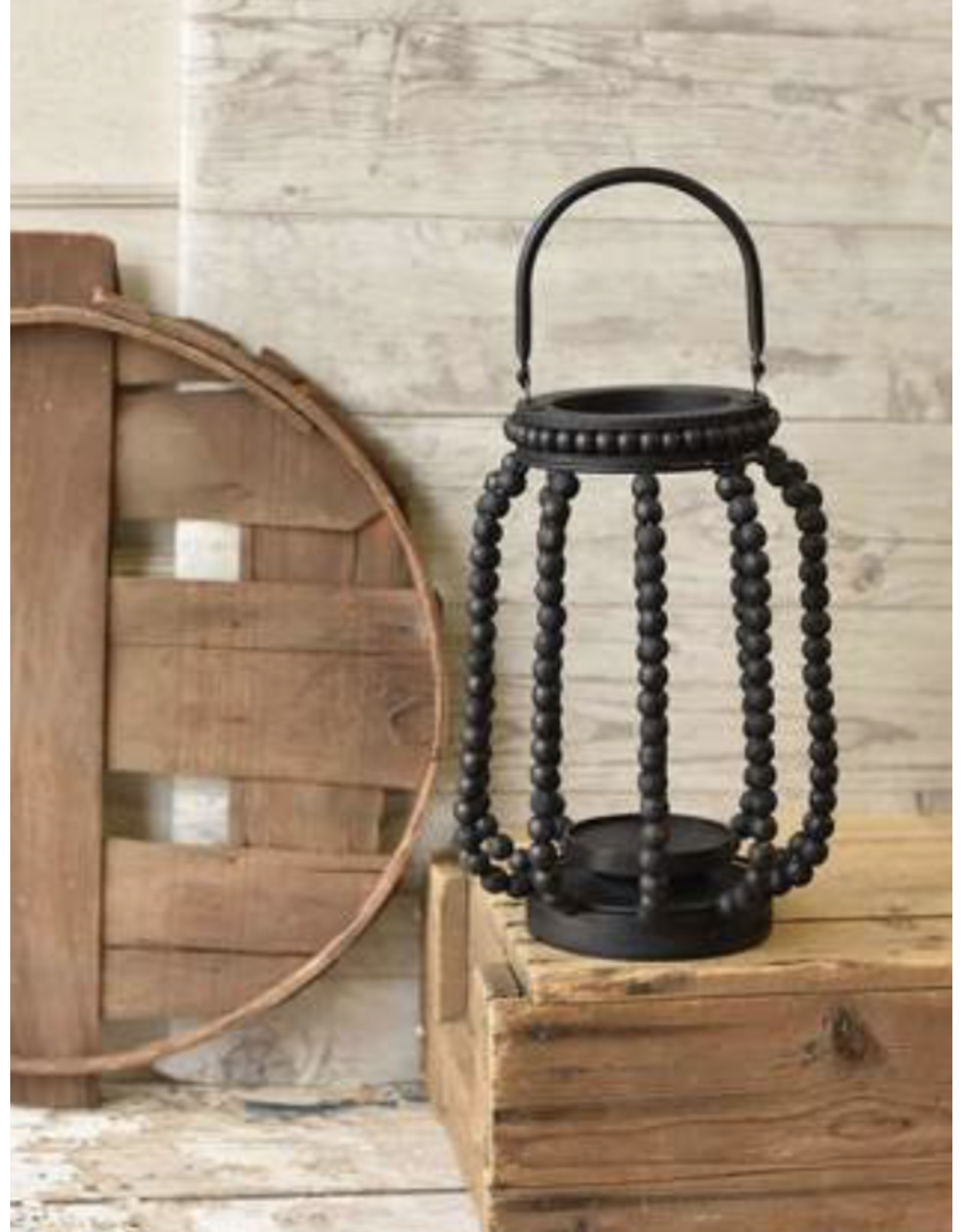 Lancaster & Vintage Sphere Lantern Large, Black