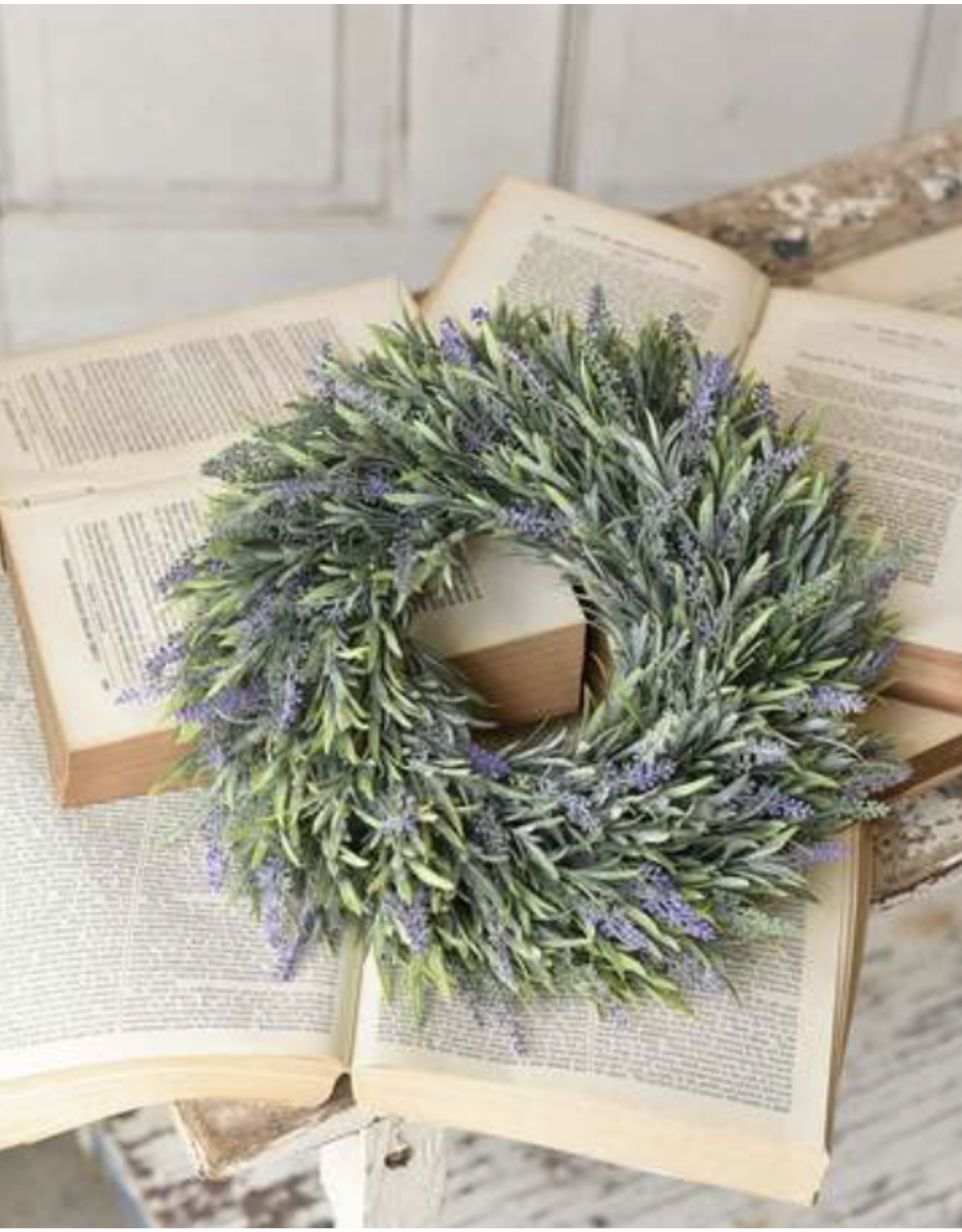 Lancaster & Vintage Lavender Melody Wreath