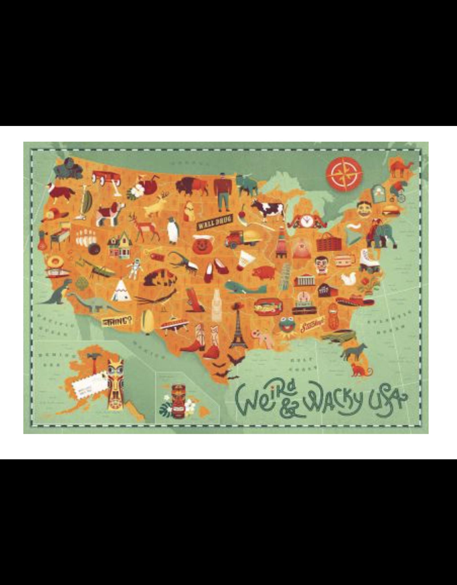 True South Weird & Wacky USA Puzzle