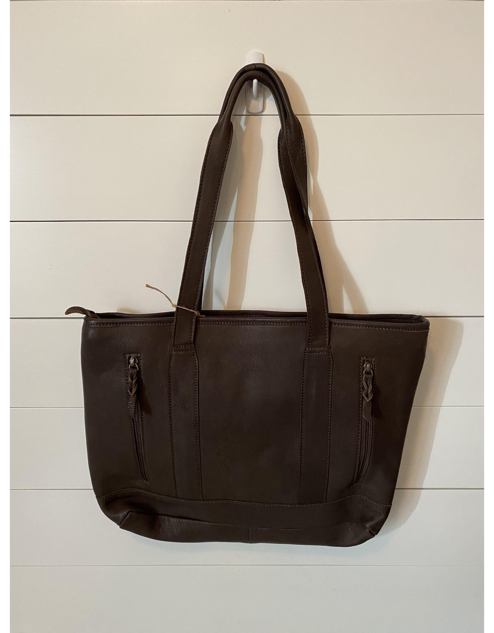 American Darling Speckles Leather Bag