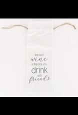 Adams & Co. Linen Wine Bag