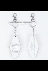 Adams & Co. Maya Angelou Key Chain