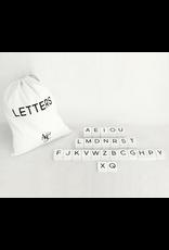 Adams & Co. Letterboard Tile, Bag of 70
