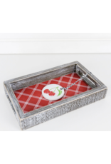 """Adams & Co. """"I Love You Cherry Much"""" Wood Tray"""