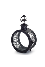 """Melrose Melrose Lantern Metal & Glass 9"""""""