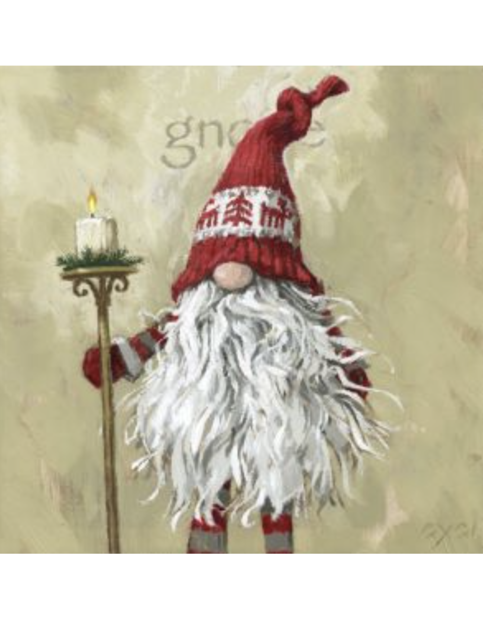 "Sullivans Boy Gnome Wall Art 9"" x 9"""