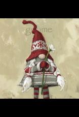 "Sullivans Girl Gnome Wall Art 5"" x 5"""