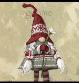 "Sullivans Girl Gnome Wall Art 9"" x 9"""