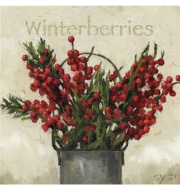 "Sullivans Winterberries Wall Art 5"" x 5"""