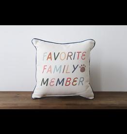 Little Birdie Favorite Family Member Pillow