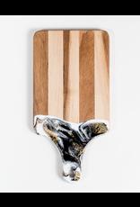 "Lynn & Liana Canadian Maple Resin Cheeseboard Small 7"" x 14"""