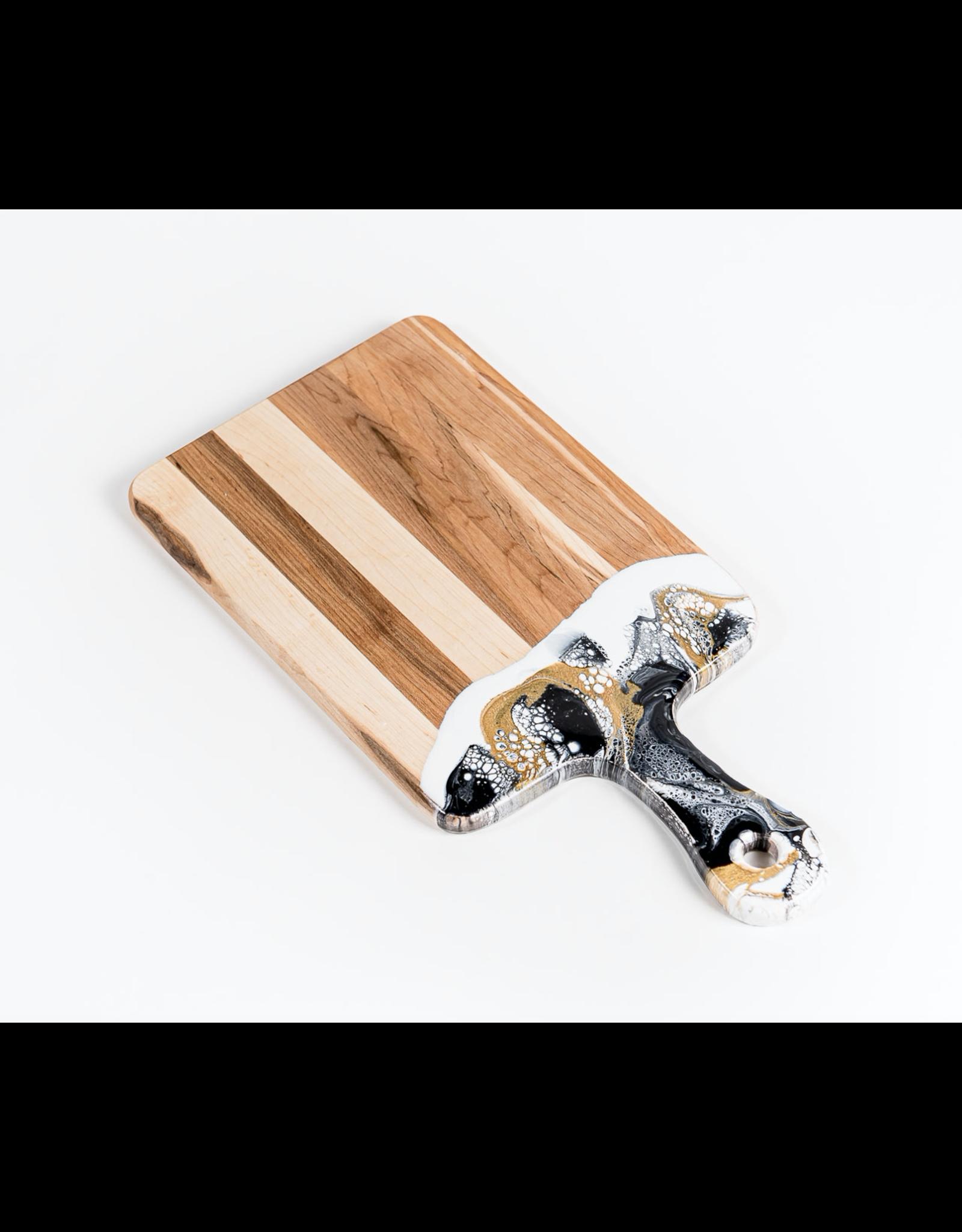 "Lynn & Liana Canadian Maple Resin Cheeseboard Medium 8"" x 16"""