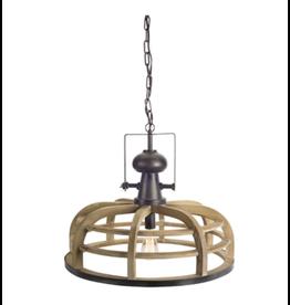 """Melrose Round Hanging Lamp 23.5"""""""