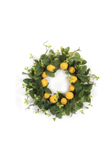 "Melrose Lemon Wreath 24"""