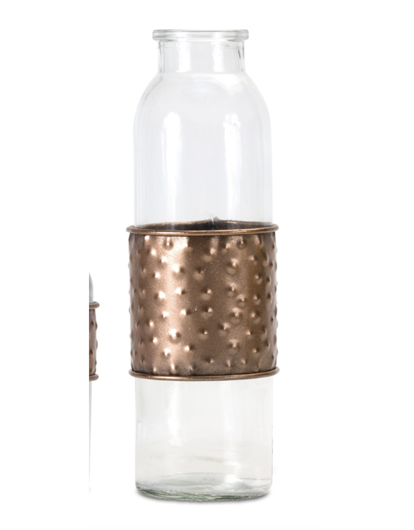 Melrose Tall Bottle with Metal Wrap