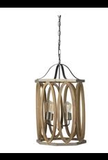 "Melrose Cylinder Hanging Lamp 21.5"""