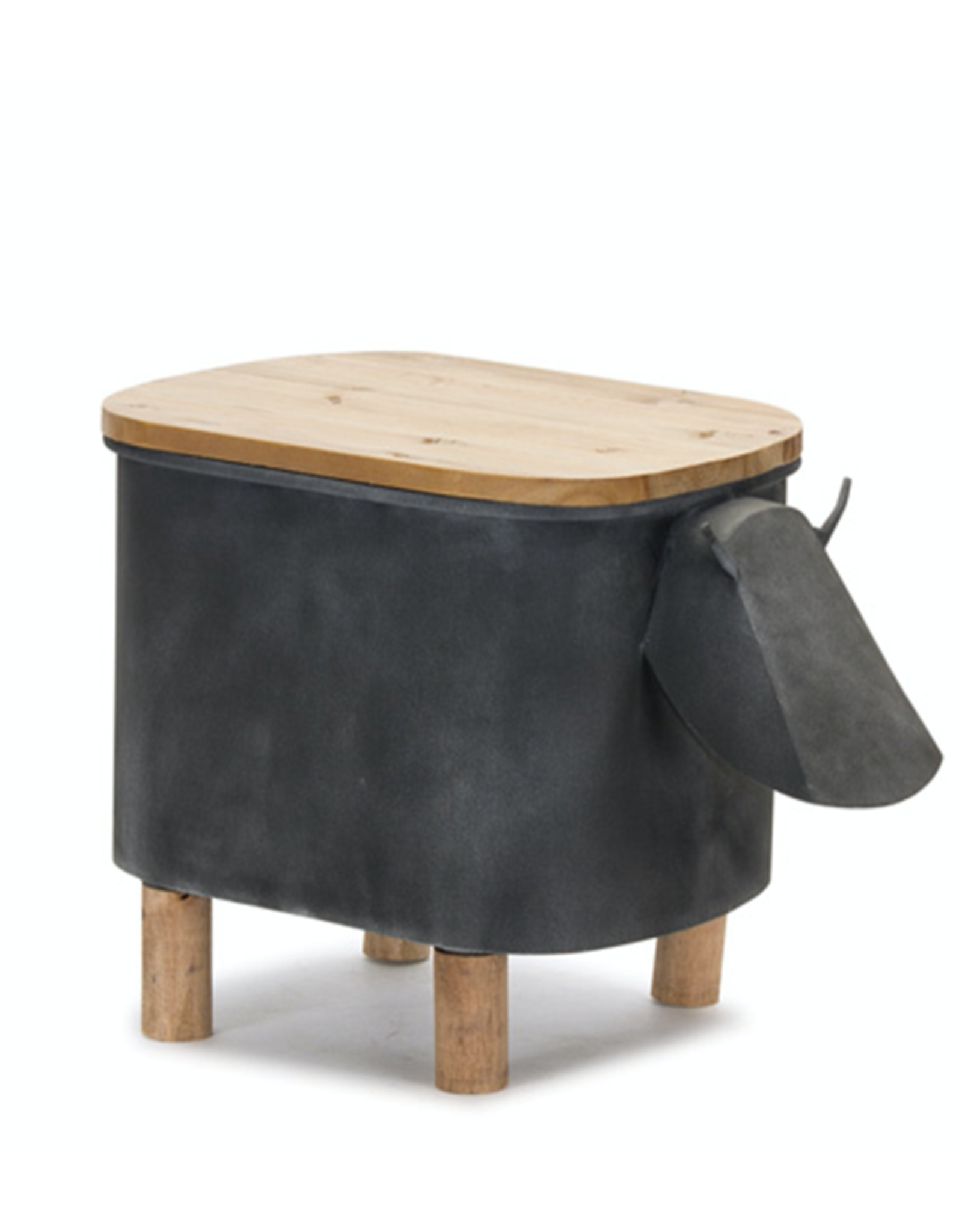 Melrose Cow Planter with Lid Small