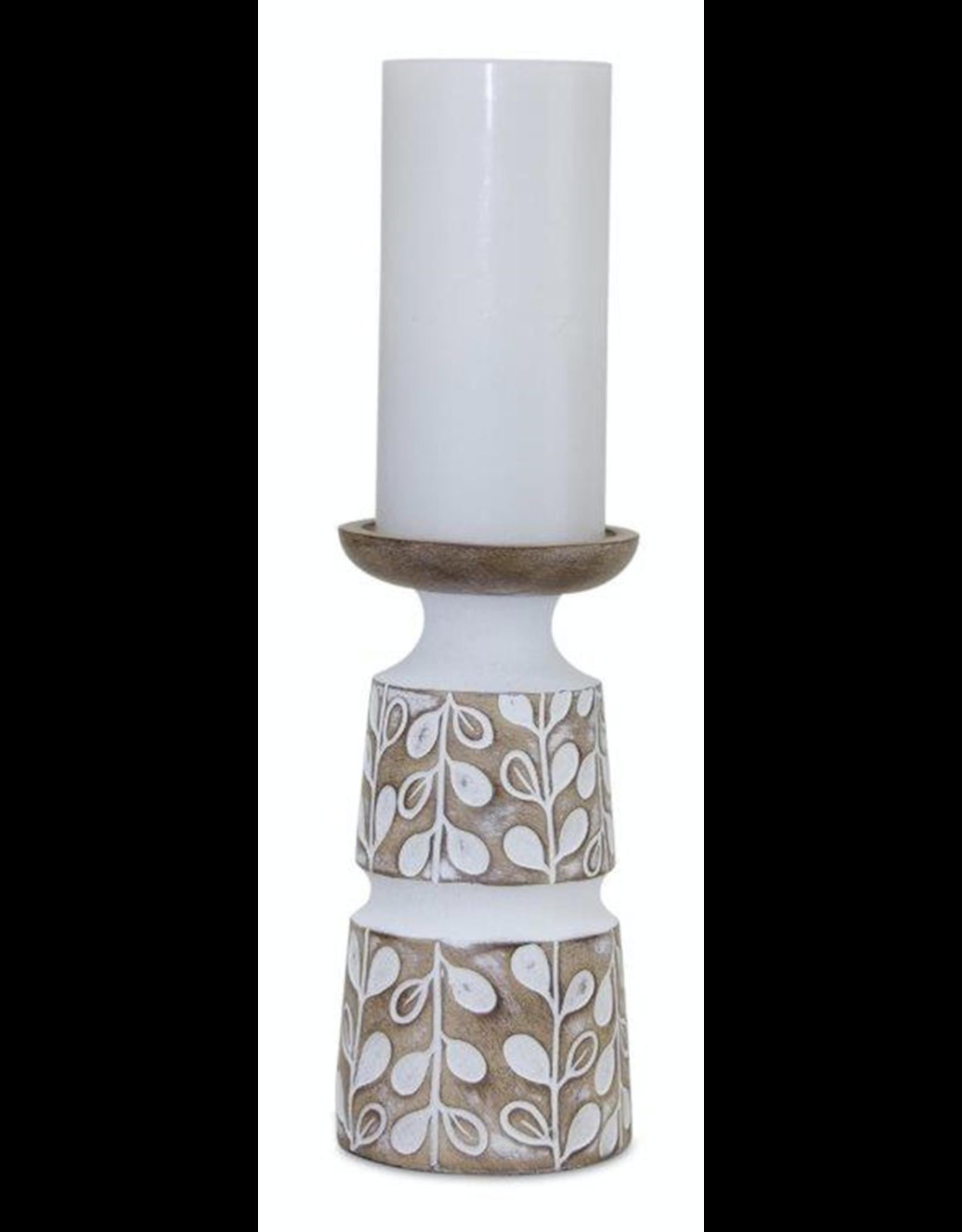 Melrose Leaf Candle Holder Medium