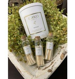 Ekko Candle Ekko Matches Tall Jar