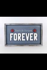 Adams & Co. Forever/Gratitude Reversible Sign