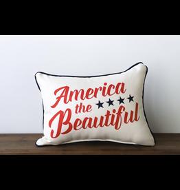 Little Birdie America The Beautiful Pillow