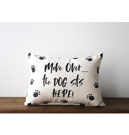 Little Birdie Dog Sits Here Pillow