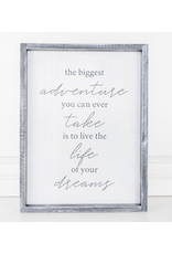 Adams & Co. Life Of your Dreams Sign