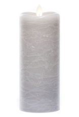 """Sullivans Frosted Pillar Candle 7"""""""