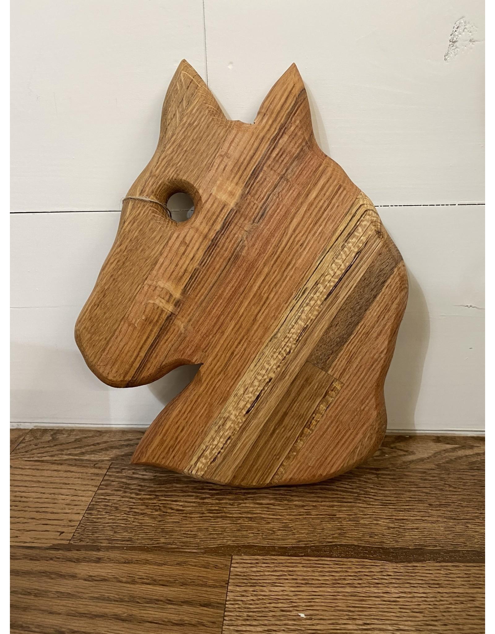 Gypsy Wagon Horse Cutting Board Small