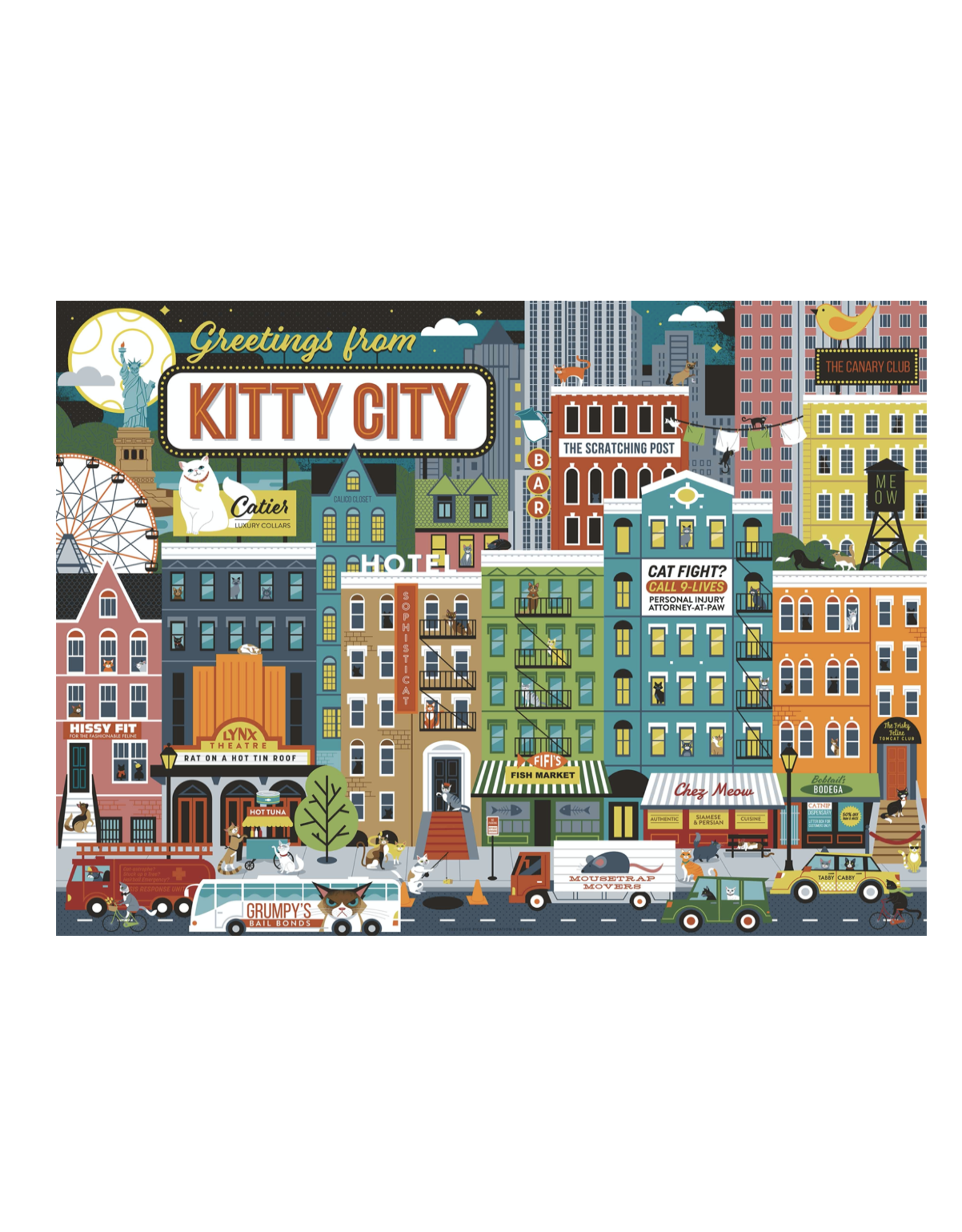 True South Kitty City Puzzle