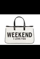 Creative Brands Weekend I Love You Tote